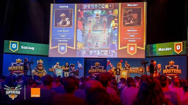 Gamergy 8: Gamergy Masters de Clash Royale en directo vía streaming