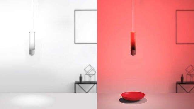 Color Swing, la lámpara que cambia de color según el lugar