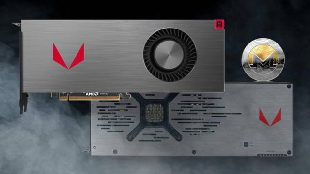 La AMD RX Vega 64 es mejor gráfica para minar Monero que la Titan V de NVIDIA