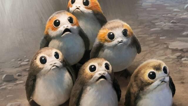 Los porgs de 'Star Wars Episodio VIII Los Últimos Jedi' dividen a Internet