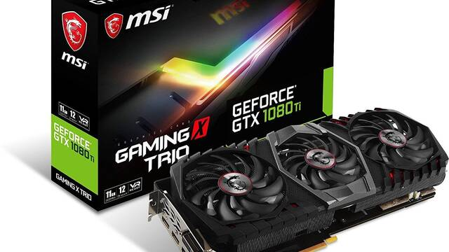 MSI Geforce GTX 1080Ti Gaming X Trio, iluminación LED para su gráfica más potente