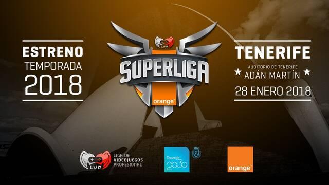 La Superliga Orange volverá a estrenarse en Tenerife en 2018
