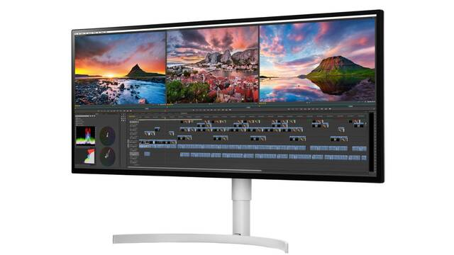LG anuncia un monitor 5K HDR ultrapanorámico