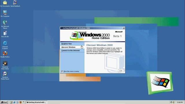 ¿Echas de menos Windows 2000? Ahora puedes emularlo a través de una web