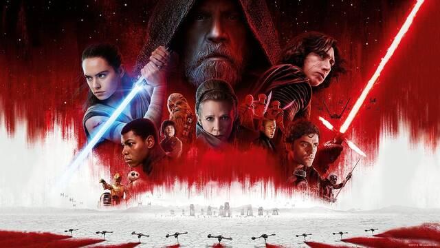 'Los Últimos Jedi' cerca de recaudar 400 millones de dólares en Estados Unidos