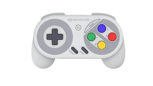 Llega Super Gamepad, el mando inalámbrico para SNES Classic Mini