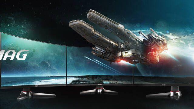 MSI estrena sus nuevos monitores curvos para gamers Optix Mag