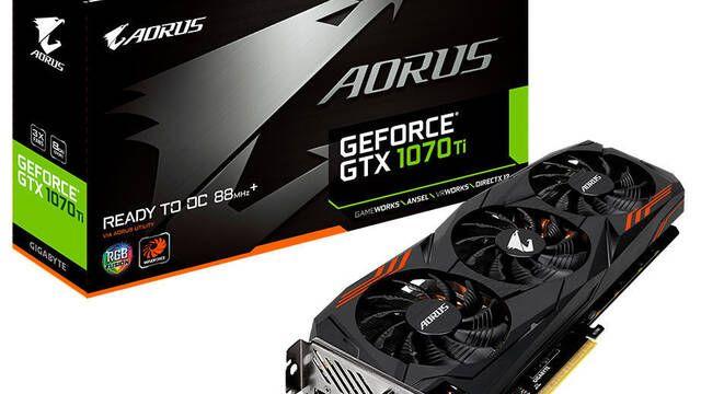 Gigabyte presenta su gráfica AORUS GeForce GTX 1070Ti 8G