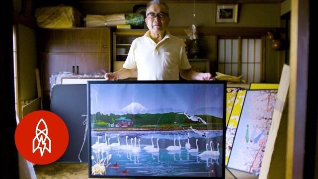 Un artista japonés usa Microsoft Excel para crear sus obras