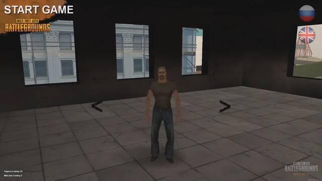 PUBG llega a GTA San Andreas gracias a un divertido mod