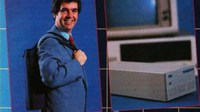 Así era un disco duro portátil en 1985