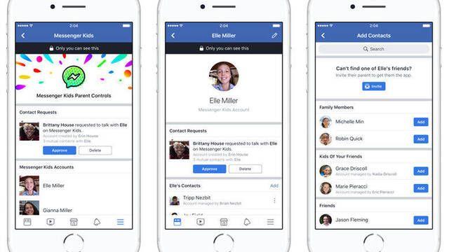 Facebook lanza una versión especial y segura de Messenger para niños
