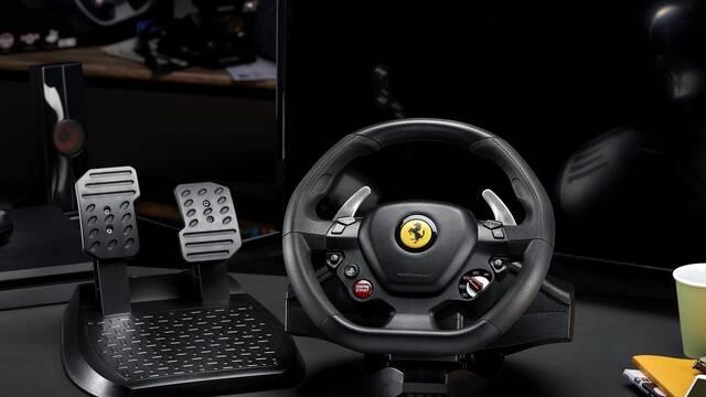 Thrustmaster lanza el volante del Ferrari 488 GTB para PS4