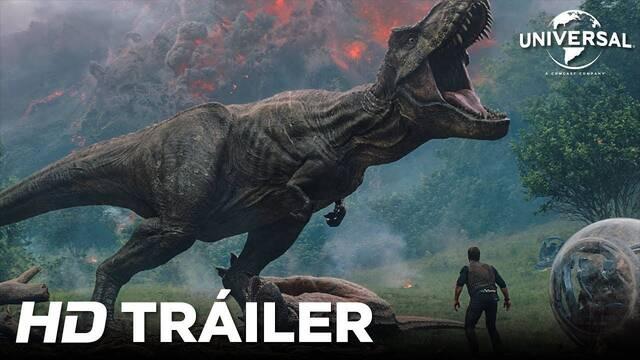 Primer tráiler oficial de Jurassic World 2: El Reino Caído