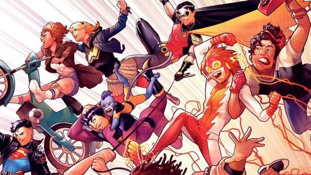 Brian Michael Bendis habla sobre el regreso de la 'Young Justice' original