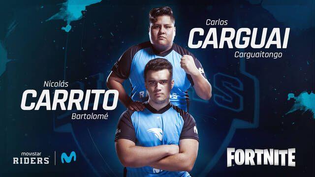 Movistar Riders anuncia su nuevo equipo de Fortnite