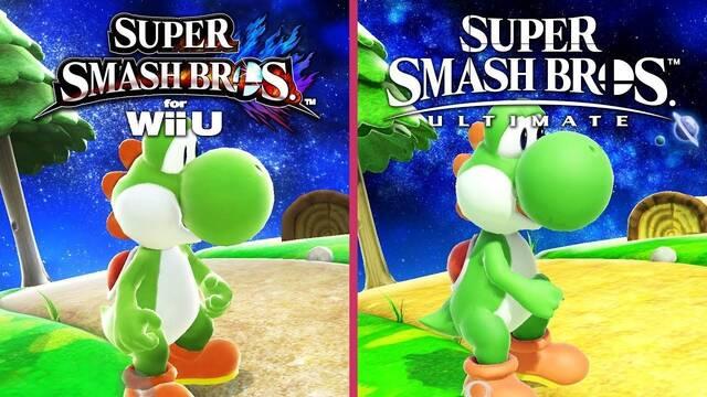 Comparativa gráfica: Super Smash Bros en Switch y en Wii U