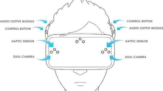 LG patenta un casco de realidad virtual con 6 cámaras