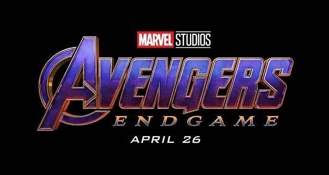 'Vengadores: Endgame' estrena nuevo logo con los colores de Thanos