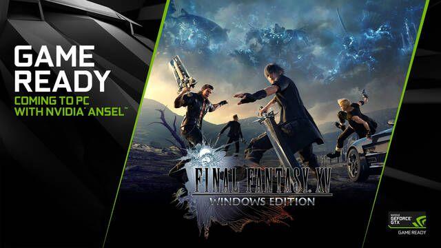 NVIDIA lanza unos nuevos drivers para activar el DLSS en Final Fantasy XV