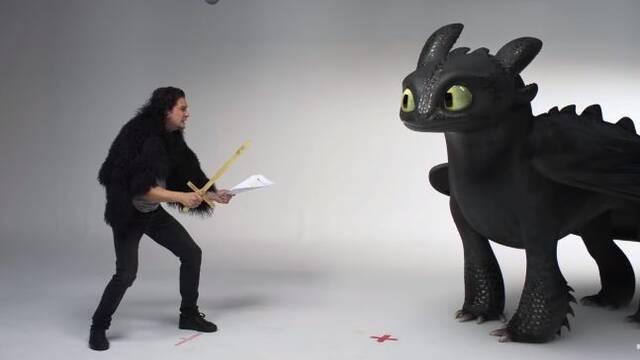 'Cómo entrenar a tu dragón': Así fue la divertida audición de Kit Harington