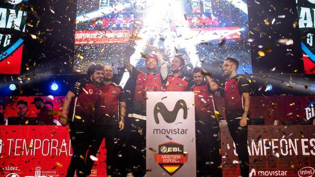 Vodafone Giants gana la cuarta temporada de la ESL Masters de CS:GO
