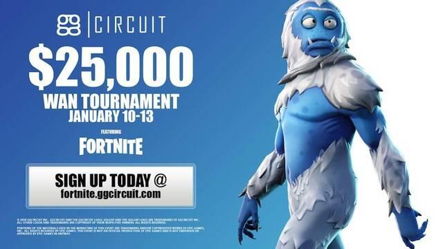 ggCircuit anuncia su torneo invernal de Fortnite