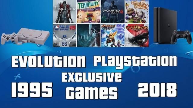 La evolución de los exclusivos de PSX a PS4