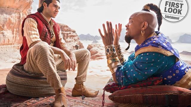 Aladdin: Ya conocemos la primera imagen oficial del Genio