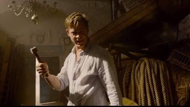 Chris Hemsworth y su guiño a Thor en 'Men In Black: International'