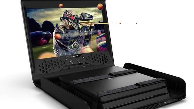 GAEMS Sentinel Pro, el maletín con monitor que convierte la consola en 'portátil'