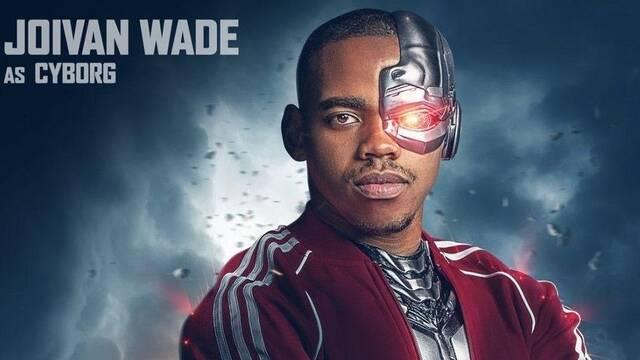 'Doom Patrol': Este es el aspecto de Jovian Wade como Cyborg