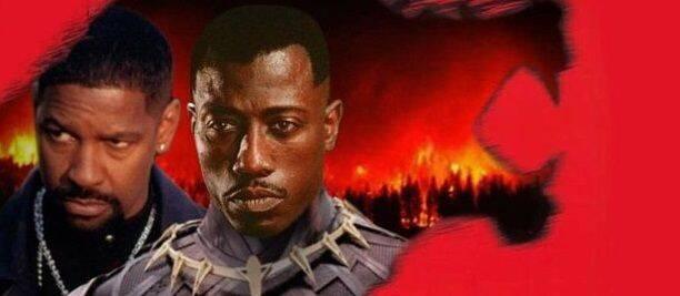 Así habría sido el póster de 'Black Panther' en los 90