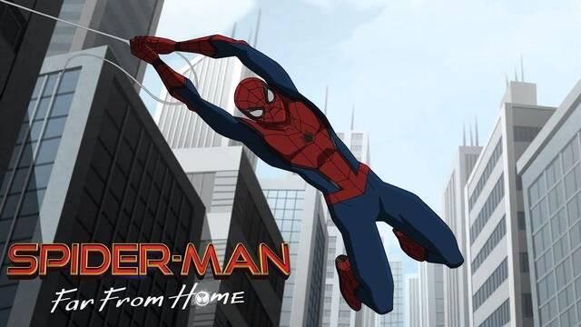 El trailer de 'Spider-Man: Lejos de casa' recibe una versión animada