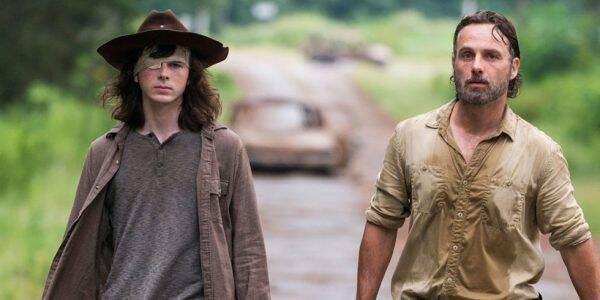 The Walking Dead: Rick y Carl no volverán a aparecer en la serie
