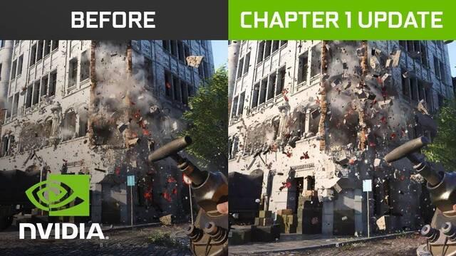 NVIDIA mejora en un 50% el rendimiento del RayTracing en Battlefield V