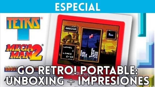 Unboxing e impresiones de Go Retro! Portable, la nueva portátil retro
