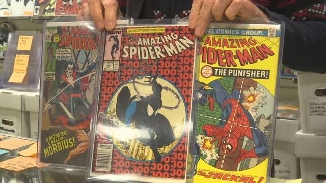 Le roban más de 100.000 dólares en cómics