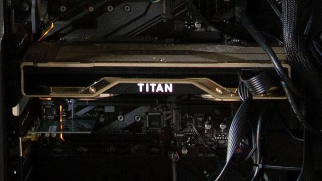 NVIDIA comienza a mostrar la gráfica RTX Titan