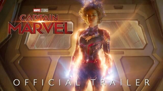 Llega un nuevo y espectacular tráiler de Capitana Marvel