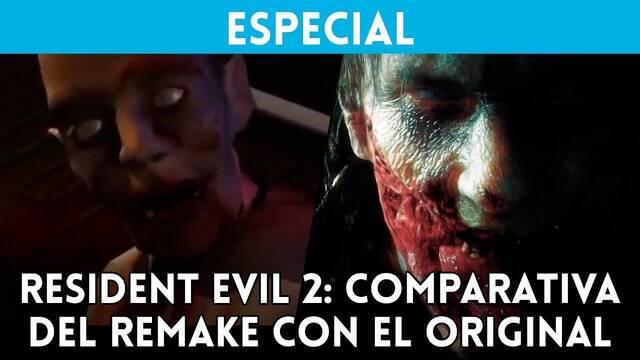 Comparativa gráfica: Resident Evil 2 VS. Resident Evil 2 Remake