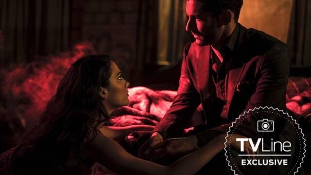 Llega la primera imagen de 'Lucifer' acompañado por Eve