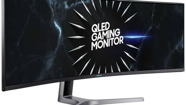 """Samsung X49RG9: Monitor gamer de 49"""", 1440p, HDR, ultrapanorámico y 120Hz"""
