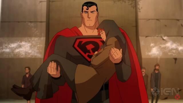 Superman: Red Son, la película animada de Superman trabajando para la URSS
