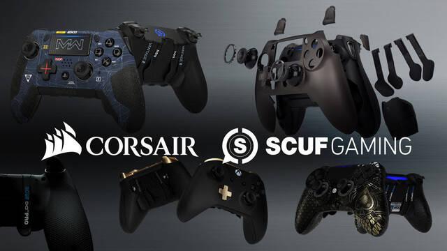 Corsair compra la conocida marca de mandos SCUF Gaming
