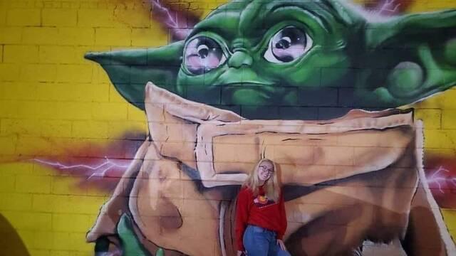 The Mandalorian: Baby Yoda invade las calles en forma de arte urbano