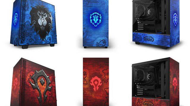 NZXT lanza su caja para PC H510 de World of Warcraft con modelos de Horda y Alianza