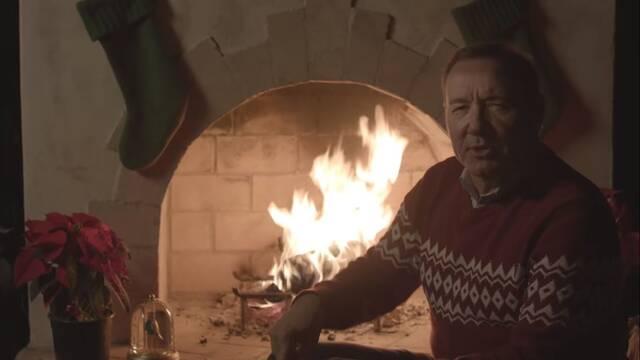 Kevin Spacey nos desea una feliz Navidad como Frank Underwood