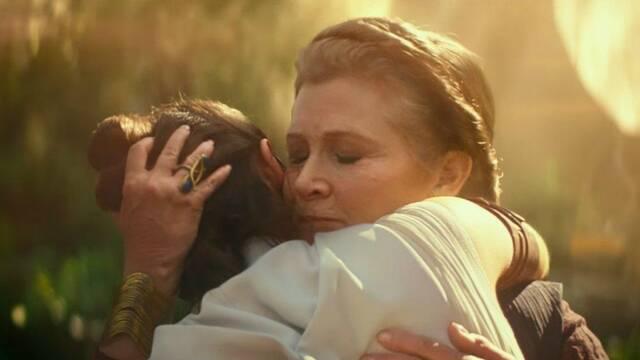 Star Wars: Leia entrenará a Rey en El ascenso de Skywalker