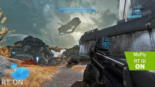 Halo Reach se ve así de bien con Ray Tracing gracias al mod Reshade